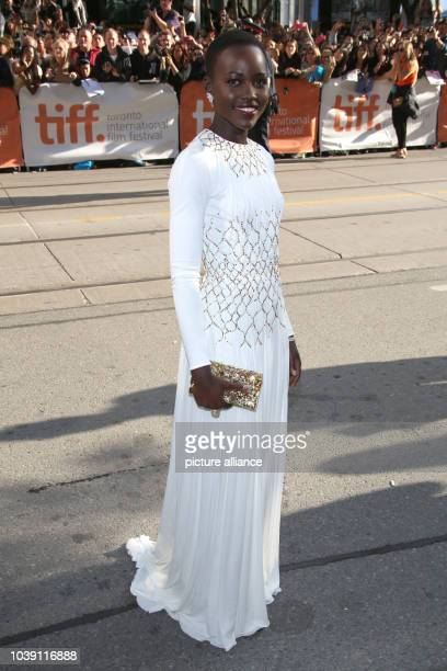 Actress Lupita Nyong'o attends the premiere of '12 Years A Slave' during the Toronto International Film Festival aka TIFF at Princess of Wales...