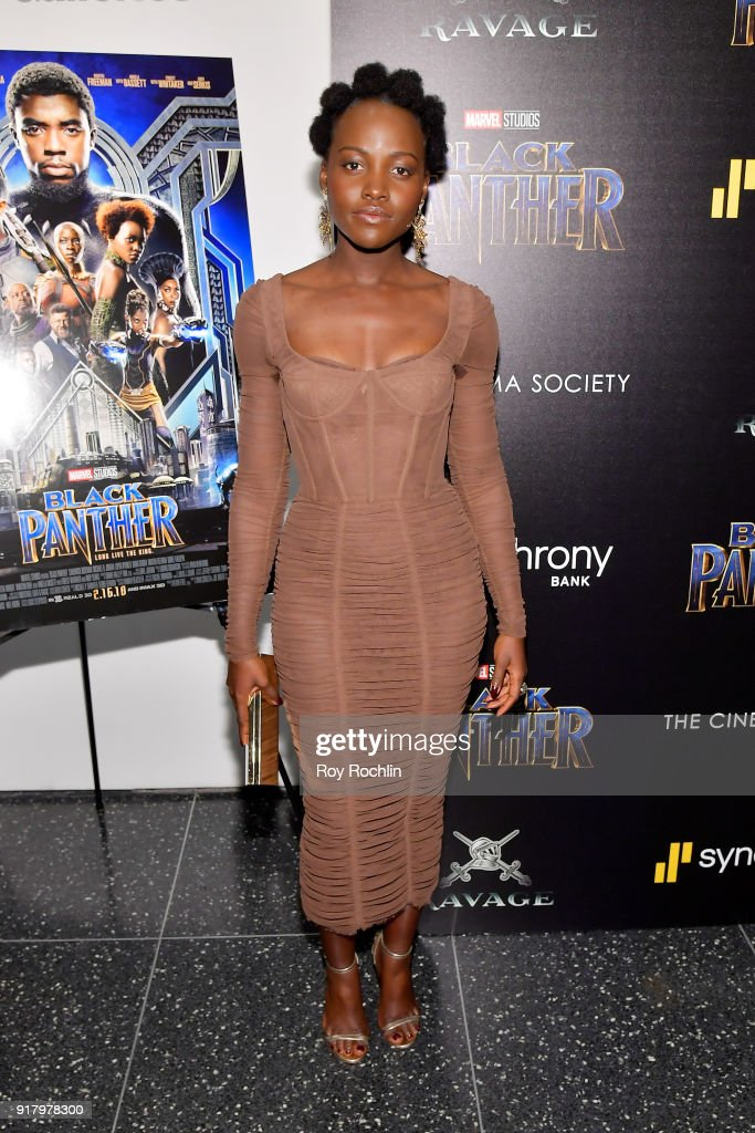"""The Cinema Society Hosts A Screening Of Marvel Studios' """"Black Panther"""""""