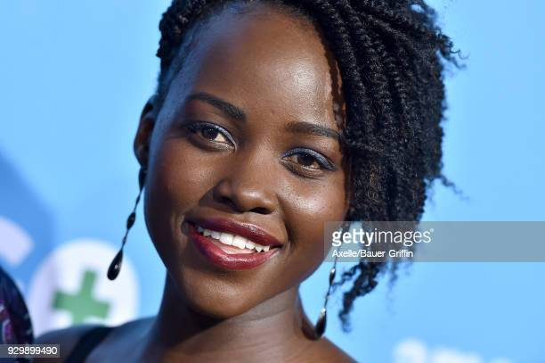 Actress Lupita Nyong'o attends the World Premiere of 'Gringo' at Regal LA Live Stadium 14 on March 6 2018 in Los Angeles California