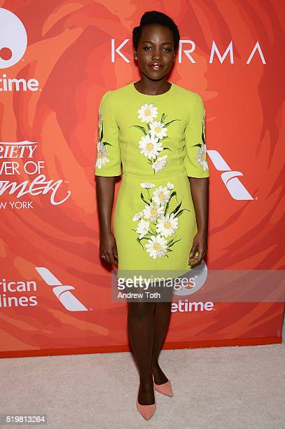 Actress Lupita Nyong'o attends Variety's Power Of Women New York 2016 at Cipriani Midtown on April 8 2016 in New York City