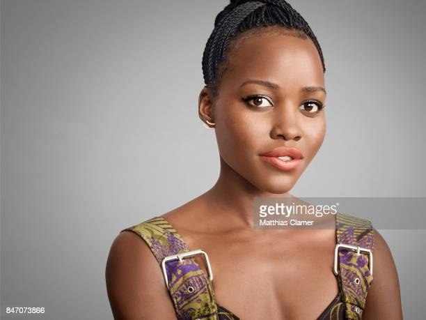 Actress Lupita Nyong'o from 'Black Panther' is photographed for Entertainment Weekly Magazine on July 23 2016 at Comic Con in the Hard Rock Hotel in...
