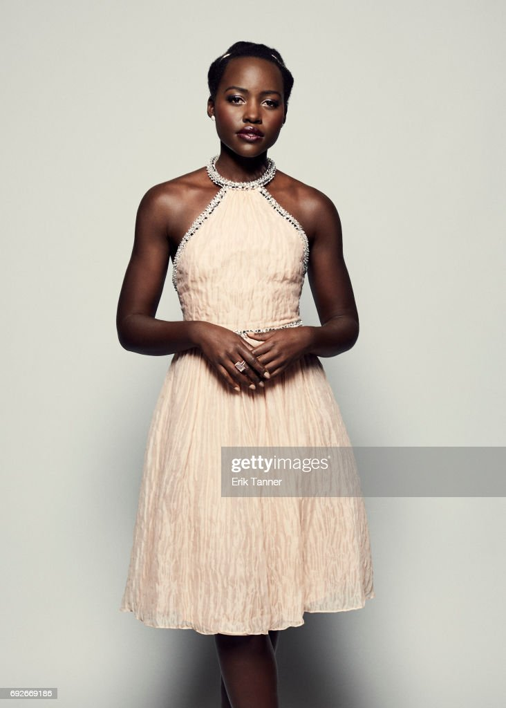 Actress Lupita Nyong'o is photographed at the 76th Annual Peabody Awards at Cipriani Wall Street on May 20, 2017 in New York City.