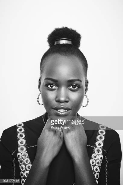 Actress Lupita Nyong'o is photographed for Entertainment Weekly Magazine on January 30 2018 in Los Angeles California