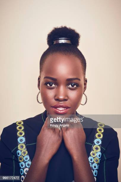 Actress Lupita Nyong'o is photographed for Entertainment Weekly Magazine on January 30 2018 in Los Angeles California PUBLISHED IMAGE