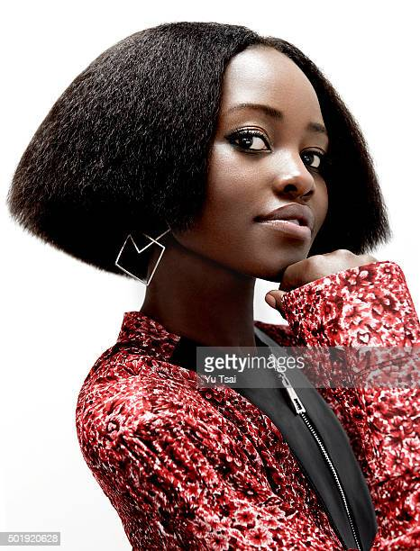 Actress Lupita Nyong'o is photographed for Rhapsody Magazine on October 5 2015 in New York City PUBLISHED IMAGE