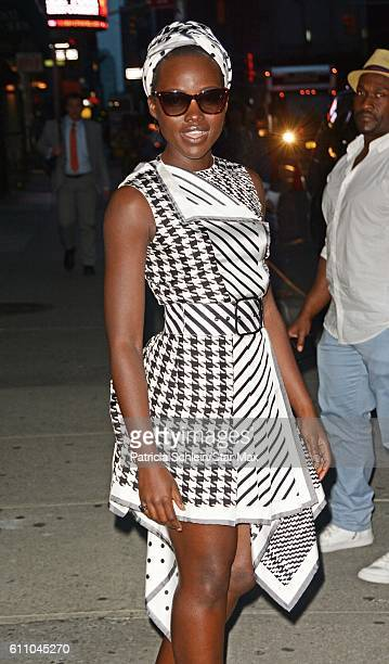 Actress Lupita Nyong'o is seen on September 28 2016 in New York City