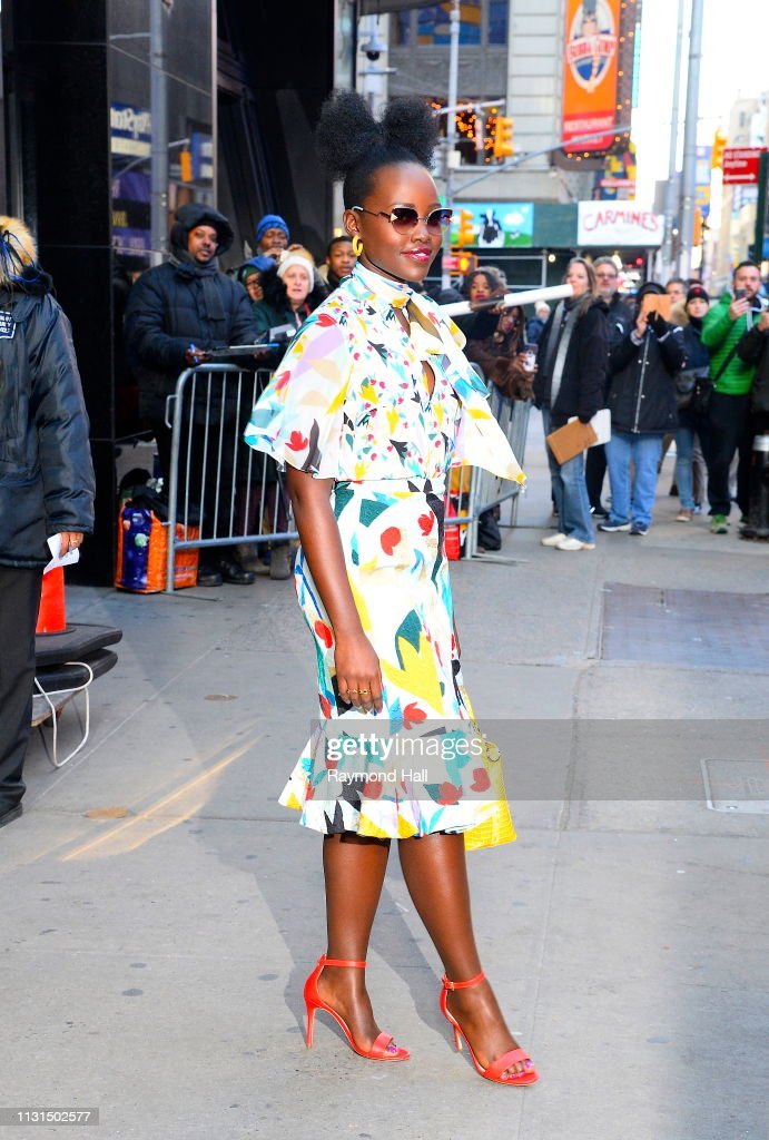 NY: Celebrity Sightings In New York City - March 19, 2019