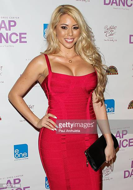 Actress Lux attends the Los Angeles premiere of Lap Dance at ArcLight Cinemas on December 8 2014 in Hollywood California