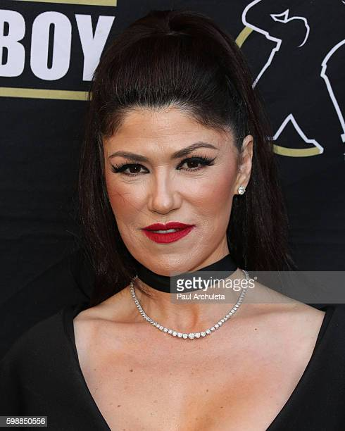 Actress Luzelba Mansour attends the anniversary celebration of Boxeo Estelar at Belasco Theatre on September 2 2016 in Los Angeles California