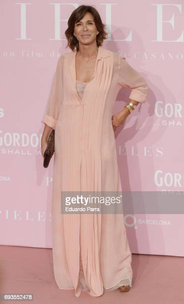 Actress Lydia Bosch attends the 'Pieles' premiere at Capitol cinema on June 7 2017 in Madrid Spain
