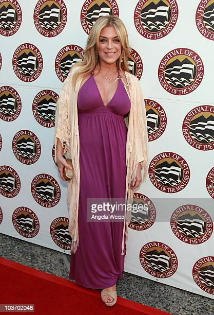 Actress Lydia Cornell attends the 2010 Festival of Arts/Pageant of the Masters gala on August 28 2010 in Laguna Beach California