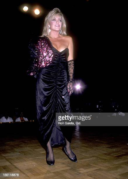 Actress Lydia Cornell attends the Second Annual Amanda Foundation Celebrity Fashion Show on September 10 1986 at Beverly Hilton Hotel in Beverly...