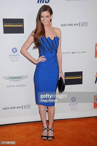 Actress Lydia Hearst arrives at the 22nd Annual Race To Erase MS at the Hyatt Regency Century Plaza on April 24 2015 in Century City California