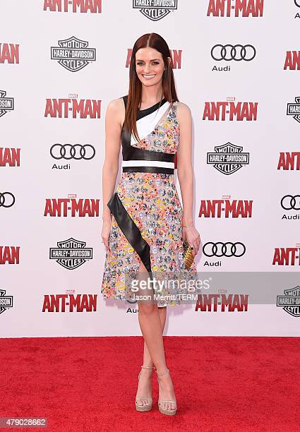 Actress Lydia Hearst arrives at the Los Angeles Premiere of Marvel Studios 'AntMan' at Dolby Theatre on June 29 2015 in Hollywood California