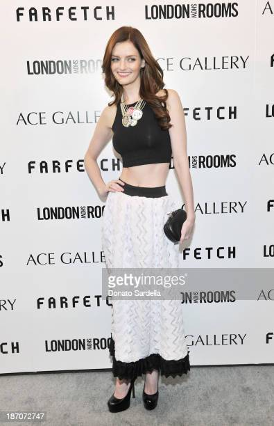 Actress Lydia Hearst attends LONDON show ROOMS LA Opening SS14 on November 5 2013 in Los Angeles California