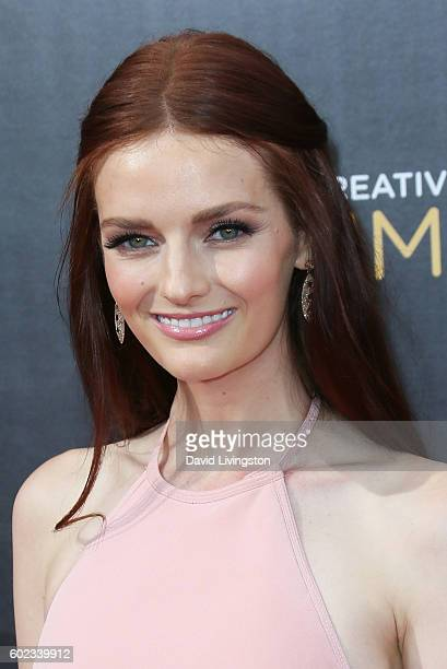Actress Lydia Hearst attends the 2016 Creative Arts Emmy Awards Day 1 at the Microsoft Theater on September 10 2016 in Los Angeles California
