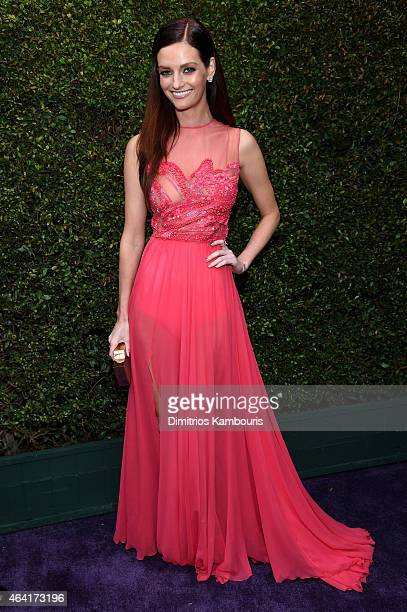 Actress Lydia Hearst attends the 23rd Annual Elton John AIDS Foundation Academy Awards Viewing Party on February 22 2015 in Los Angeles California