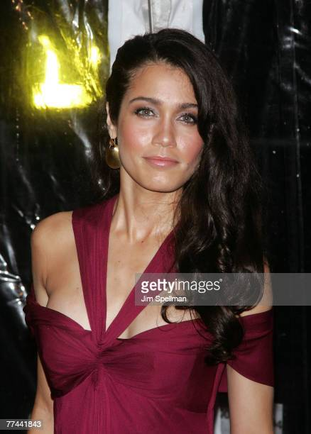 Actress Lymari Nadal arrives at American Gangster premiere at the Apollo Theater on October 19 2007 in New York City New York
