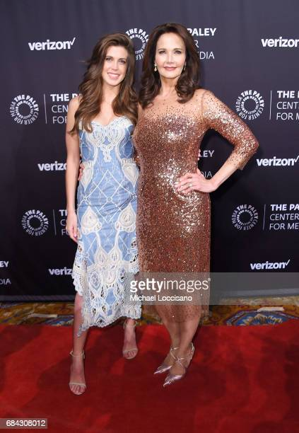 Actress Lynda Carter and daughter Jessica Altman attend the The Paley Honors Celebrating Women In Television event at Cipriani Wall Street at on May...