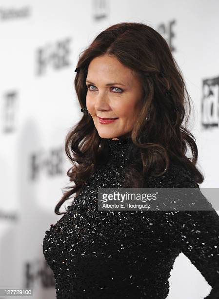 Actress Lynda Carter arrives to the official launch party for Bethesda Software's most anticipated video game 'Rage' on September 30 2011 in Los...