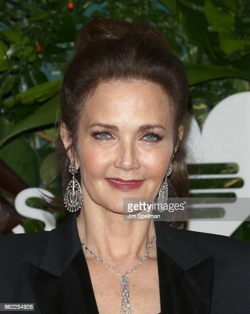 Actress Lynda Carter attends the 11th Annual God's Love We Deliver Golden Heart Awards at Spring Studios on October 16 2017 in New York City