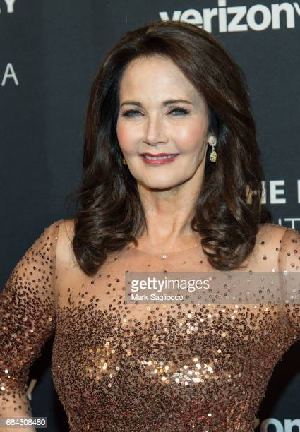 Actress Lynda Carter attends The Paley Honors Celebrating Women In Television at Cipriani Wall Street on May 17 2017 in New York City