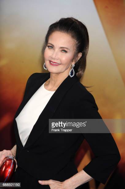 Actress Lynda Carter attends the premiere of Warner Bros Pictures 'Wonder Woman at the Pantages Theatre on May 25 2017 in Hollywood California