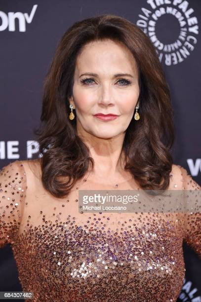 Actress Lynda Carter attends the The Paley Honors Celebrating Women In Television event at Cipriani Wall Street at on May 17 2017 in New York City