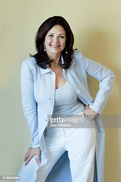 Actress Lynda Carter is photographed for Los Angeles Times on July 29 2005 in Los Angeles California PUBLISHED IMAGE CREDIT MUST READ Gary...