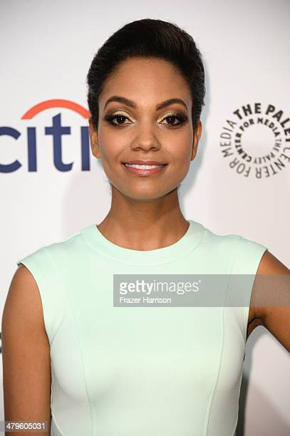 Actress Lyndie Greenwood arrives at The Paley Center for Media's PaleyFest 2014 Honoring 'Sleepy Hollow' at Dolby Theatre on March 19 2014 in...