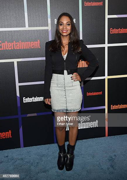 Actress Lyndie Greenwood attends Entertainment Weekly's annual ComicCon celebration at Float at Hard Rock Hotel San Diego on July 26 2014 in San...