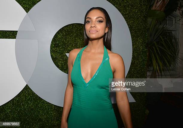 Actress Lyndie Greenwood attends the 2014 GQ Men Of The Year party at Chateau Marmont on December 4 2014 in Los Angeles California