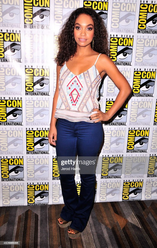 Actress Lyndie Greenwood attends the 'Sleepy Hollow' Press Line during Comic-Con International 2014 at Hilton Bayfront on July 25, 2014 in San Diego, California.