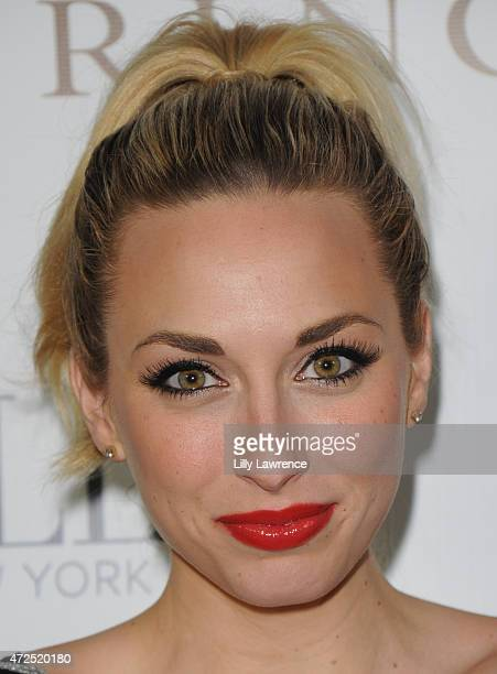 Actress Lyndsi LaRose attends BELLA Beauty Issue Party Hosted By Jordana Woodland at Naked Princess on May 7 2015 in West Hollywood California
