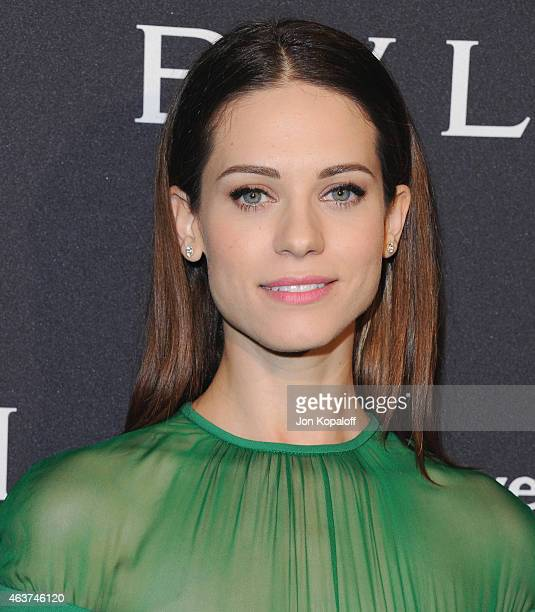Actress Lyndsy Fonseca arrives at BVLGARI And Save The Children STOP THINK GIVE PreOscar Event at Spago on February 17 2015 in Beverly Hills...