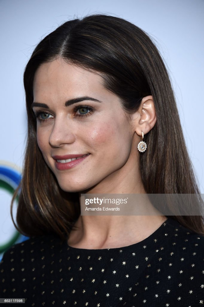Actress Lyndsy Fonseca arrives at the UCLA Institute of the Environment and Sustainability Innovators for a Healthy Planet celebration on March 13, 2017 in Beverly Hills, California.