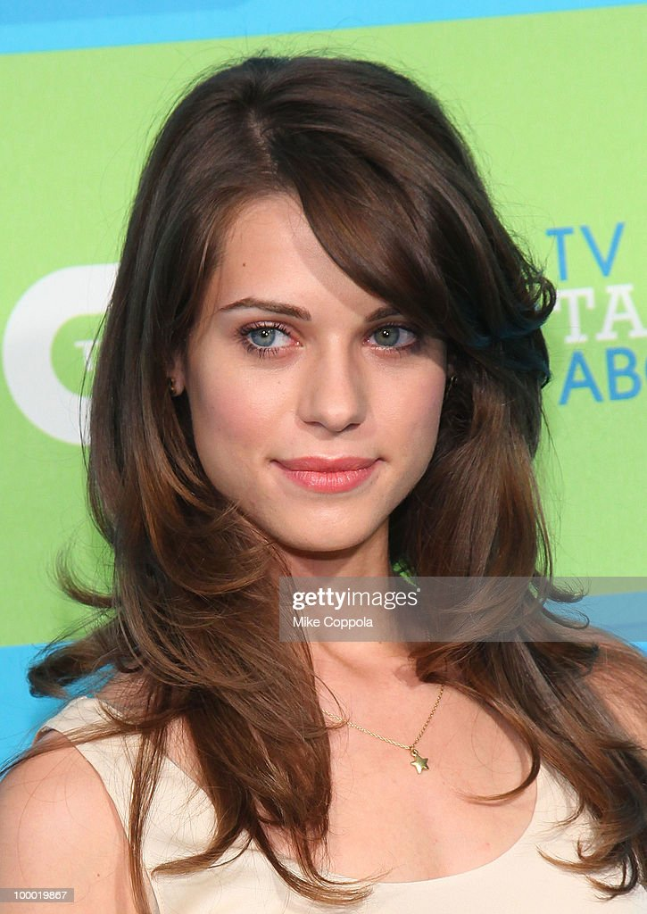 Actress Lyndsy Fonseca attends the 2010 The CW UpFront at Madison Square Garden on May 20, 2010 in New York City.