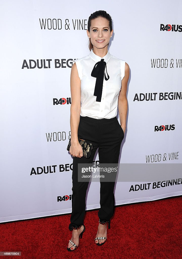 Actress Lyndsy Fonseca attends the premiere of 'Adult Beginners' at ArcLight Hollywood on April 15, 2015 in Hollywood, California.