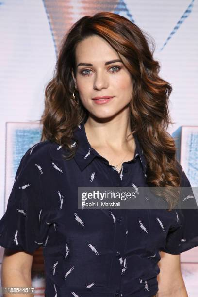 Actress Lyndsy Fonseca attends the Premiere of Agent Emerson at iPic Theater on November 18 2019 in Los Angeles California