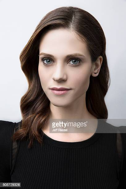 Actress Lyndsy Fonseca is photographed for TV Guide Magazine on January 14 2015 in Pasadena California