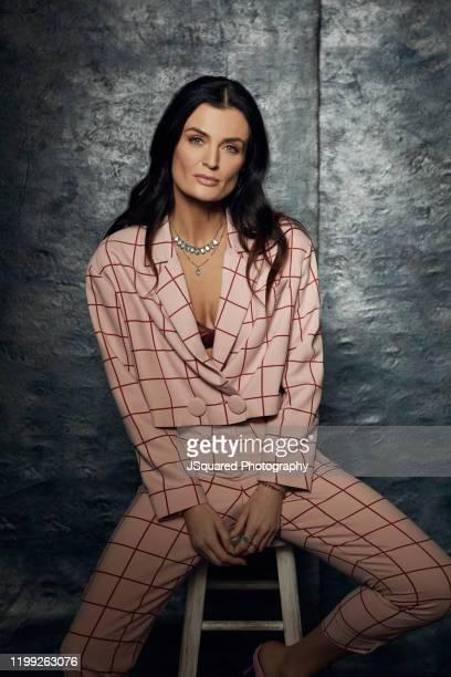 Actress Lyne Renée of Freeform's 'Motherland: Fort Salem' poses for a portrait during the 2020 Winter TCA Portrait Studio at The Langham Huntington,...