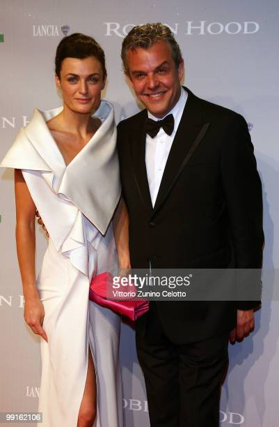 Actress Lyne Renee and actor Danny Huston attend the 'Robin Hood' After Party at the Hotel Majestic during the 63rd Annual Cannes International Film...
