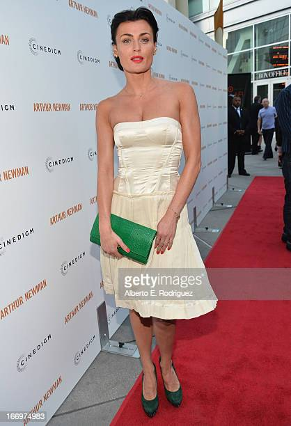 Actress Lyne Renee attends the premiere of Cinedigm's Arthur Newman at ArcLight Hollywood on April 18 2013 in Hollywood California