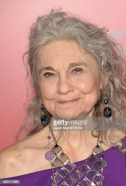 Actress Lynn Cohen arrives at the premiere of Lionsgate's The Hunger Games Catching Fire at Nokia Theatre LA Live on November 18 2013 in Los Angeles...