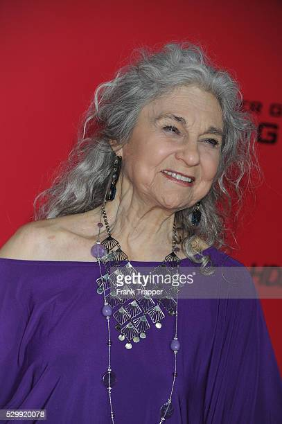 Actress Lynn Cohen arrives at the premiere of The Hunger Games Catching Fire held at the Nokia Theatre LA Live