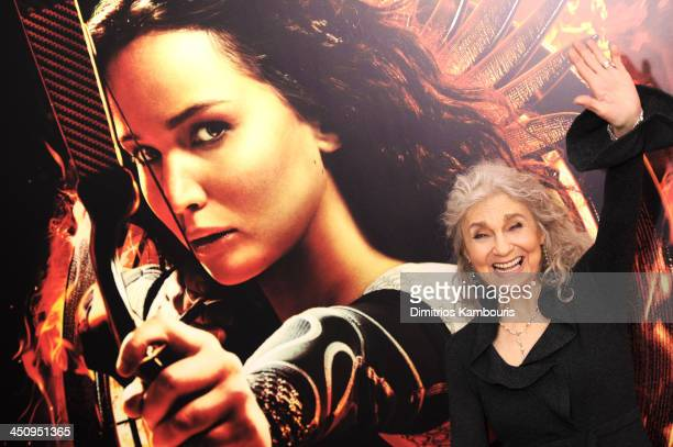 Actress Lynn Cohen attends a special screening of The Hunger Games Catching Fire on November 20 2013 in New York City