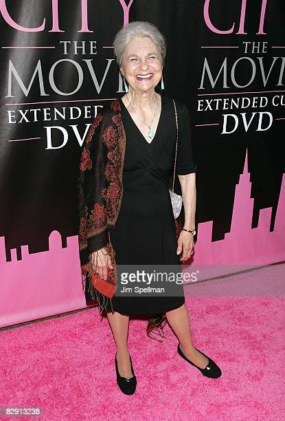 Actress Lynn Cohen attends the Sex and the City The Movie DVD launch at the New York Public Library on September 18 2008 in New York City New York
