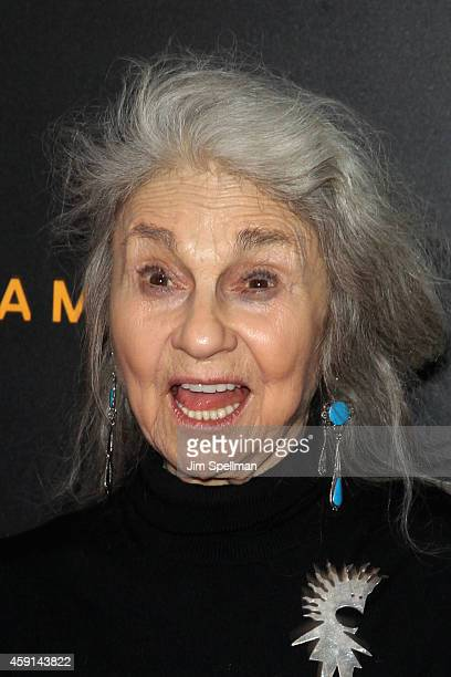 Actress Lynn Cohen attends the The Imitation Game New York Premiere at Ziegfeld Theater on November 17 2014 in New York City