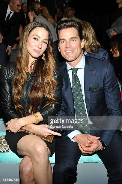 Actress Lynn Collins and actor Matt Bomer attend Tiffany Co's unveiling of the newly renovated Beverly Hills store and debut of 2016 Tiffany...