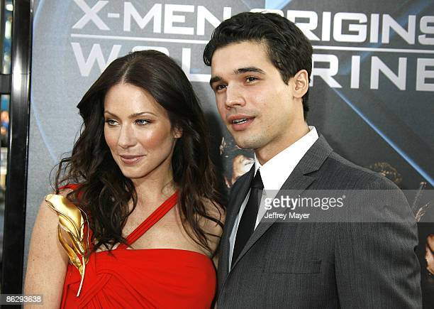 Actress Lynn Collins and husband Steven Strait arrive at XMen Origins Wolverine Los Angeles Industry Screening at the Grauman's Mann Chinese Theater...